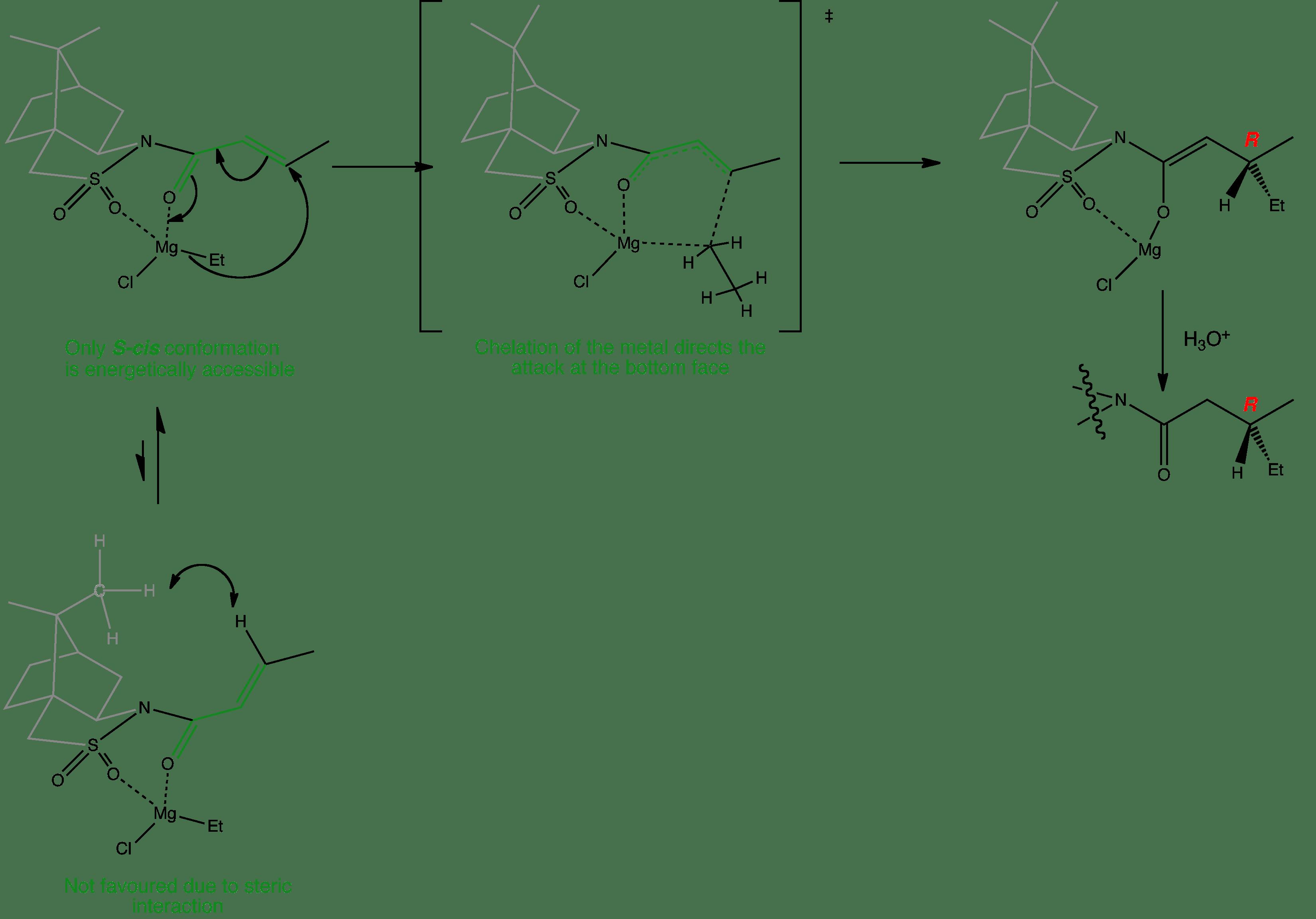Enantioselective Conjugate Addition - Oppolzer's sultam