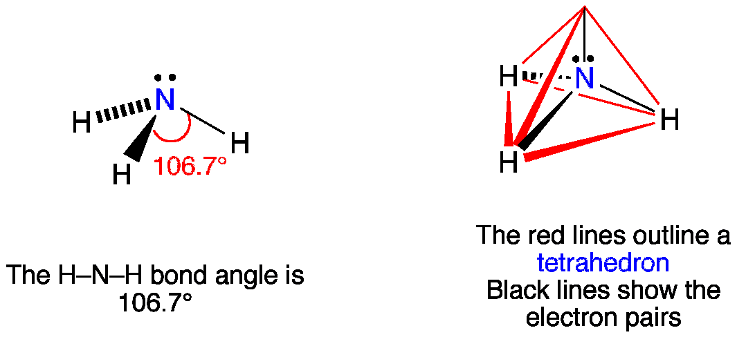 VSEPR NH3 Ammonia — ChemTube3D