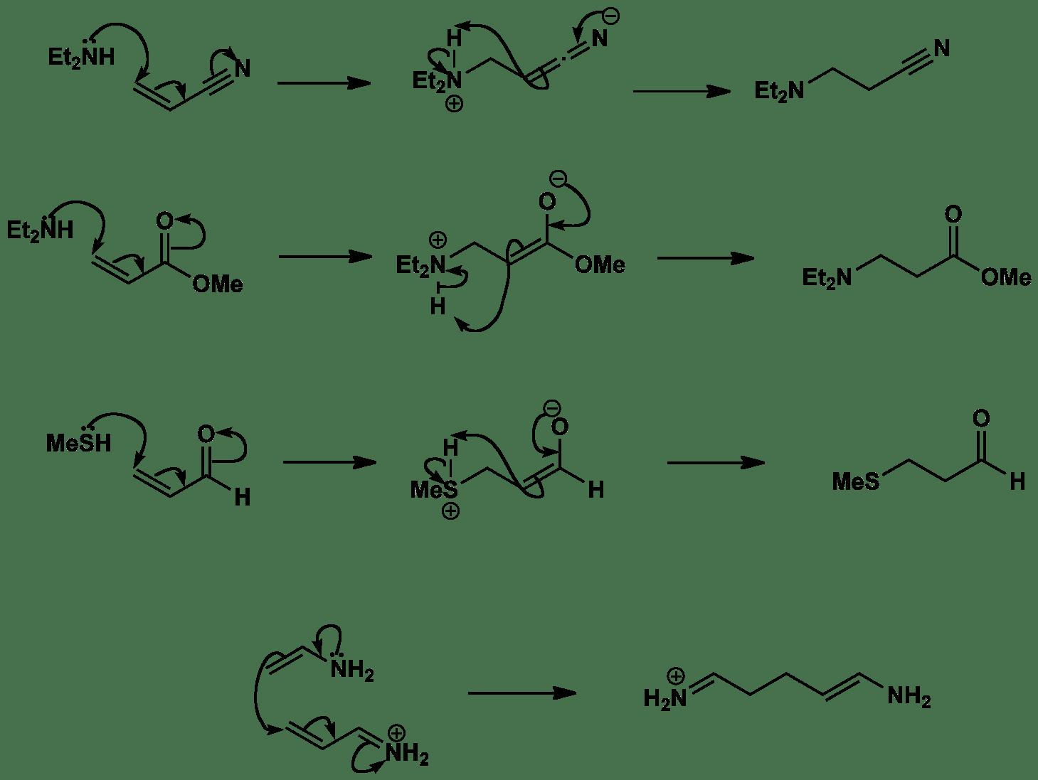 Conjugate addition mechanisms