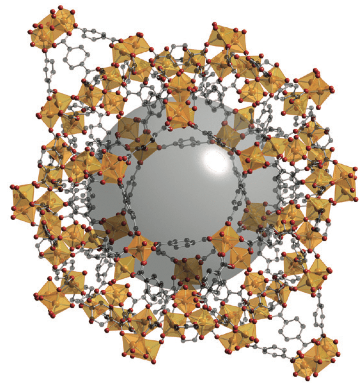 Chromium Terephthalate Metal Organic Framework — ChemTube3D