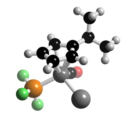 ReCp(CO)(PF3)Xe