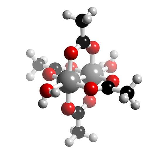 (Rh2O2(CMe)4H20)2