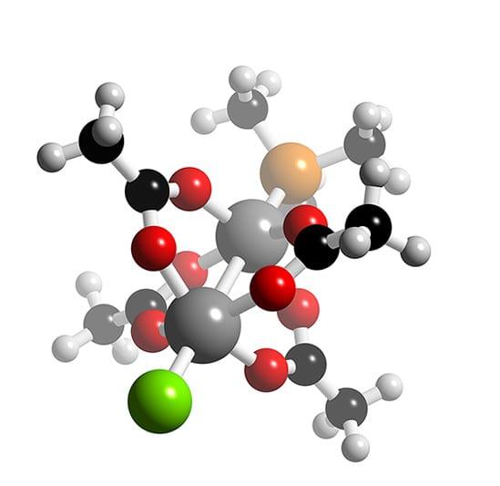 Rh2(O2CMe)4XY