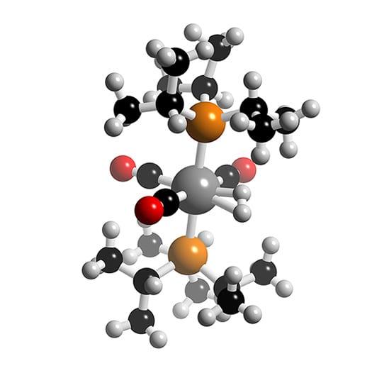 W(H2)(CO)3(PiPr3)2
