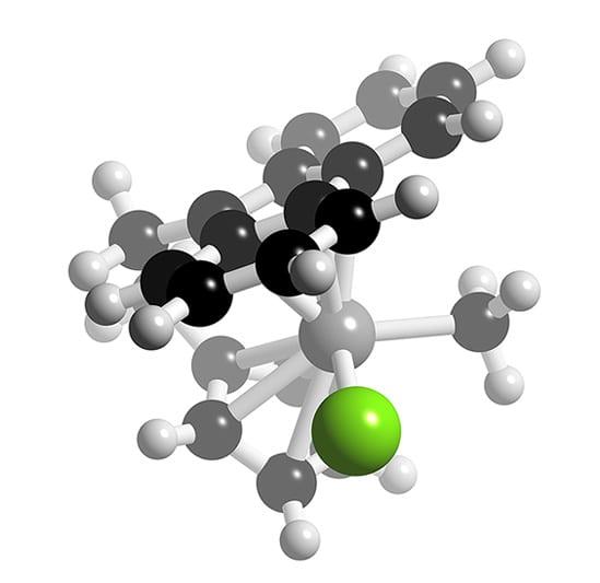 ZrClMe(fluorenylCH2CH2Cp)