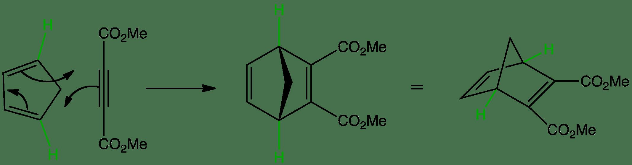 Diels Alder Z Z Cis Cis Diene Stereochemistry Of The