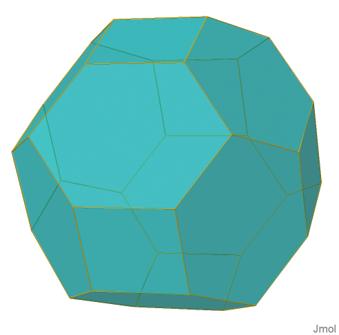 cubo-truncated rhombic dodecahedron